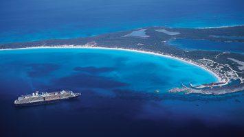 Half Moon Cay, die Privatinsel von Holland America Line. Foto: Holland America Line