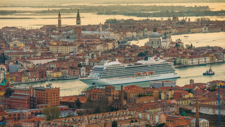 Die Viking Sea. Foto: Viking Cruises