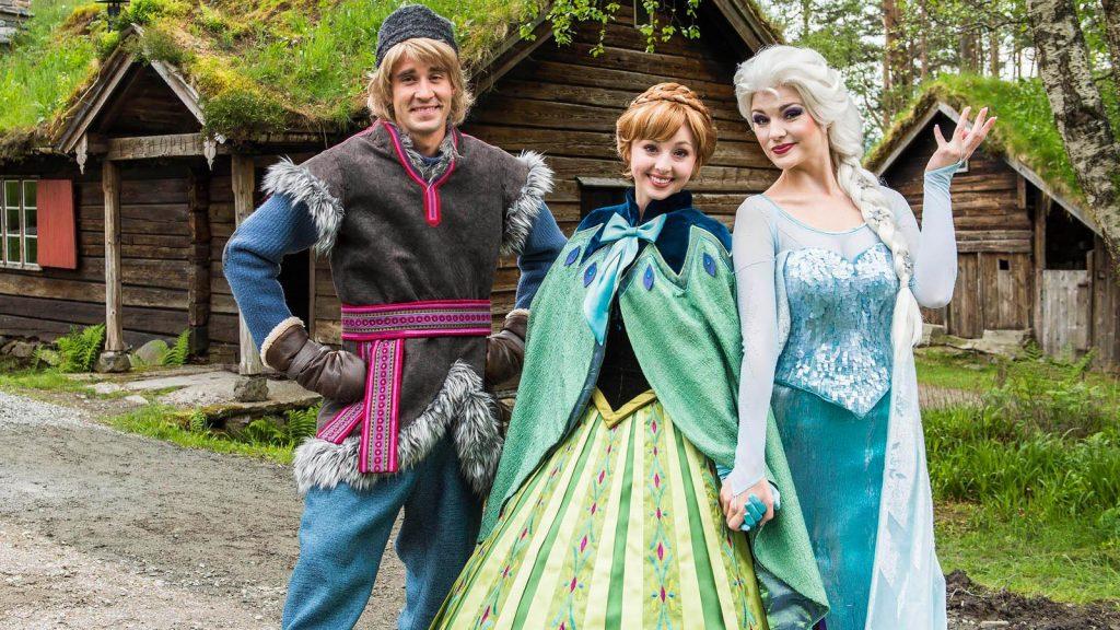 Frozen, die Eisprinzessin, der Kinderhit überhaupt. Foto: Disney Cruise Line/Matt Stroshane
