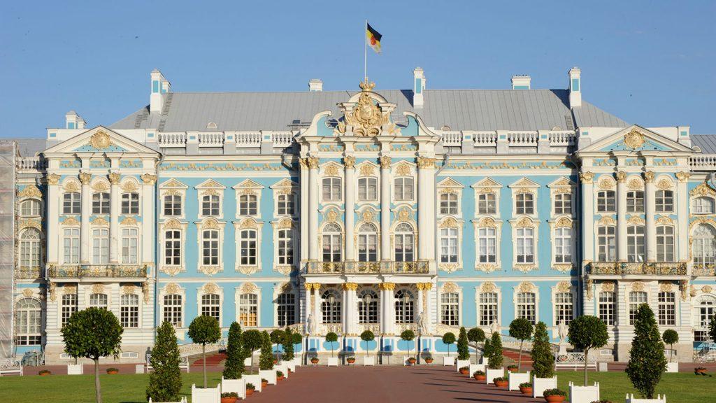 Der wunderschöne katharinenpalast in St. Petersburg. Foto: Disney Cruise Line/Kent Phillips
