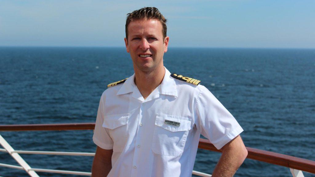 Der Kapitän der Silver Muse Alessandro Zanello. Foto: Silversea Cruises