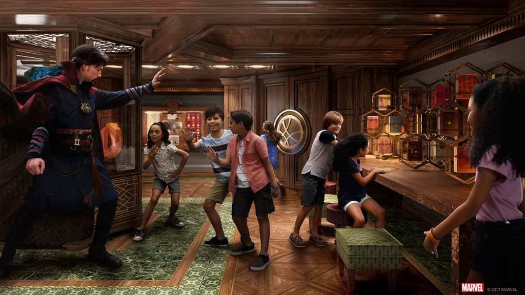 Die Marvel Super Hero Academy an Bord der Disney Fantasy. Foto: Disney Cruise Line