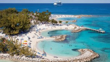 Coco Cay ist die Privatinsel von Royal Carribean. Foto: Royal Carribean