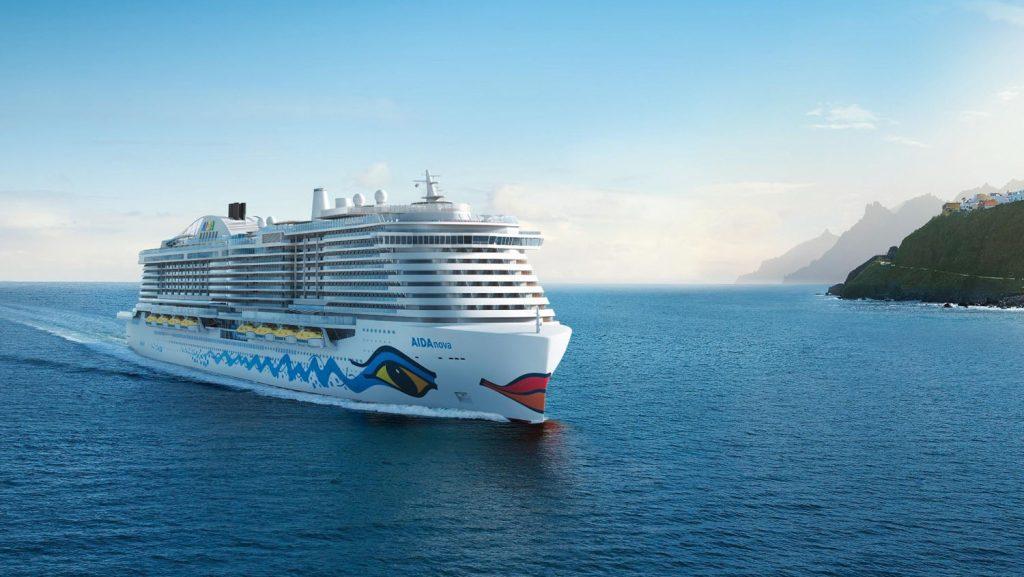 Der Name steht bereits fest: AIDAnova. Foto: AIDA Cruises