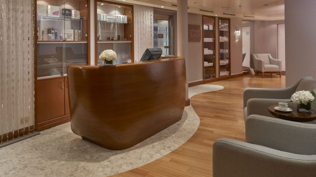 Das Spa an Bord der Seven Seas Voyager. Foto: Regent Seven Seas Cruises