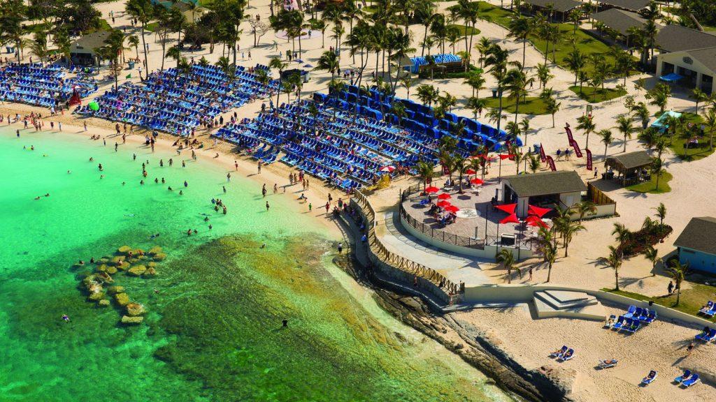 Die Strände der Insel sind ein Traum. Foto: Norwegian Cruise Line