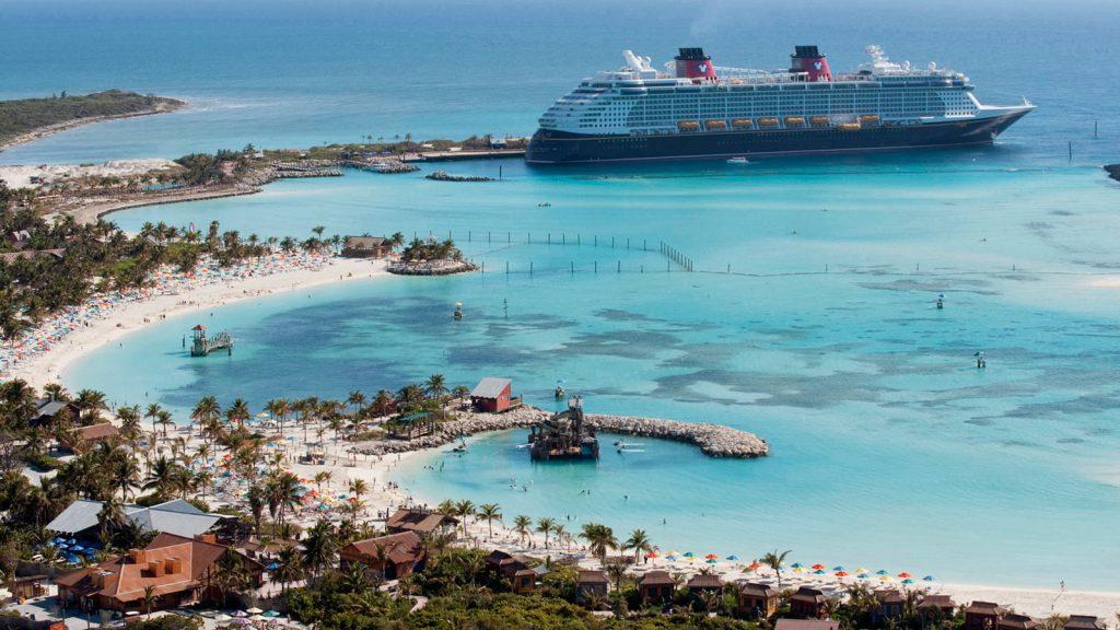 Die Privatinsel von Disney Cruise Line Castaway Cay. Foto: Disney Cruise Line/David Roark