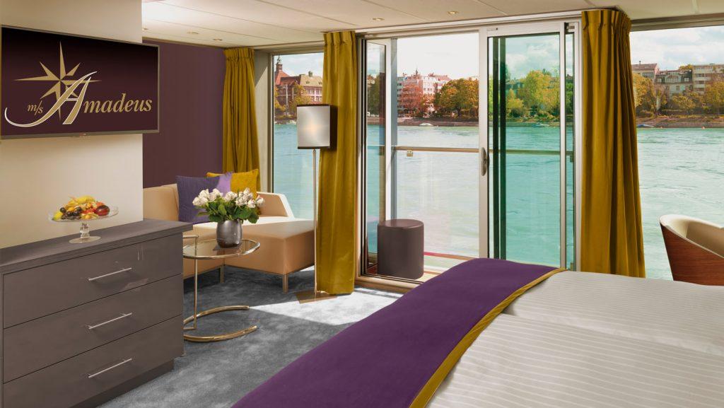 Eine von 12 Suiten an Bord. Foto: Lüftner Cruises