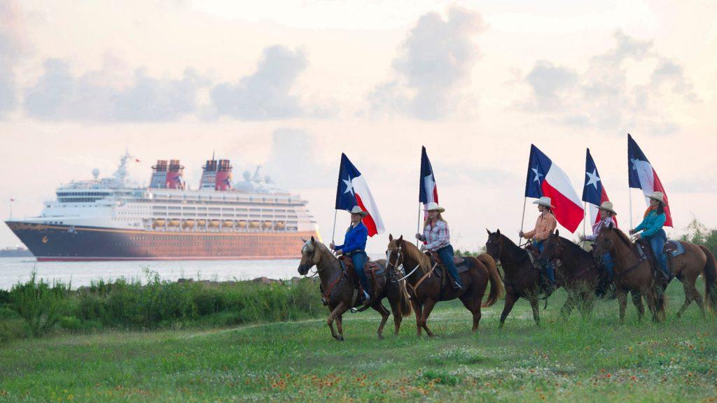 2018 kehrt Disney Cruise Line nach Galveston in Texas zurück. Foto: Disney Cruise Line/Matt Stroshane