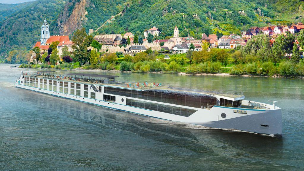 So sollen die Crystal Debussy und die Crystal Ravel einmal aussehen. Foto: Crystal River Cruise