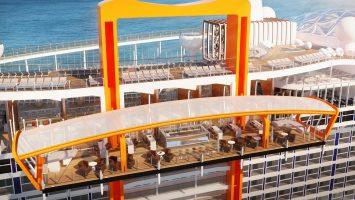 Überraschungen verspricht der Neubau Celebrity Edge. Foto: Celebrity Cruises