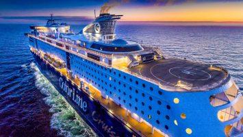 Zusammen mit Glamox hat Color Line auf beiden Kreuzfahrt-Fähren über 1000 Meter LED-Streifen verlegt. Foto: Bo Mathisen/Glamox
