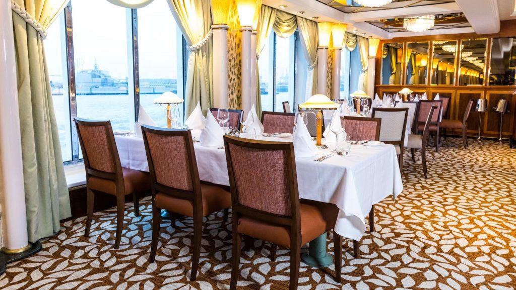 Das Peniunsula Restaurant. Foto: P&O Cruises