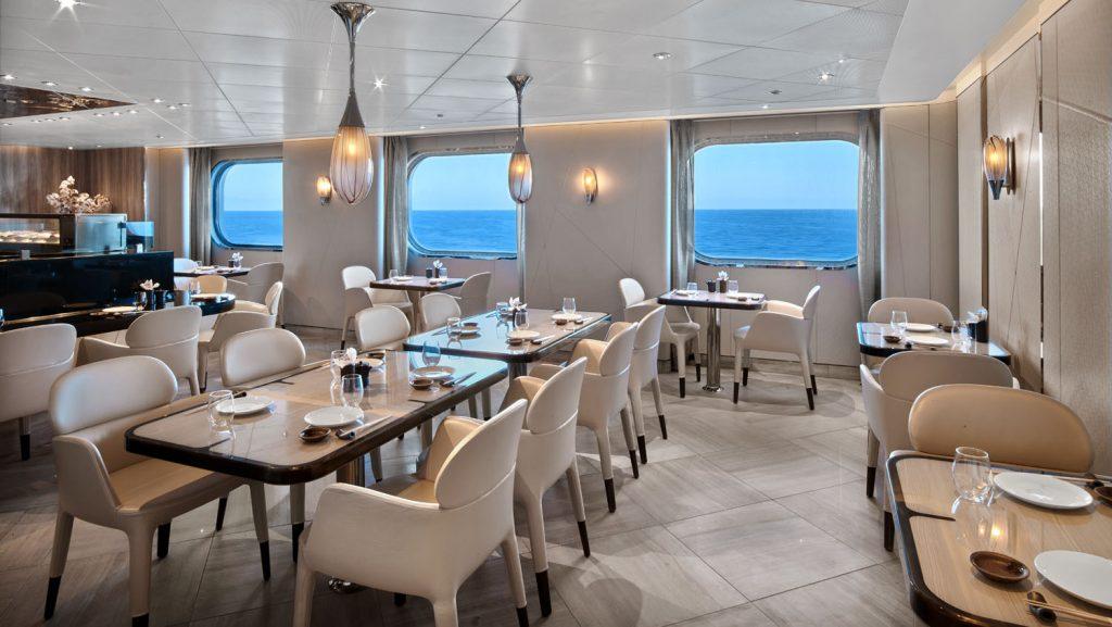 Das neue Sushi-Restaurant. Foto: Seabourn