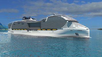 Die World Class von MSC wird Maßstäbe in der Kreuzfahrt setzen. Foto: MSC Kreuzfahrten