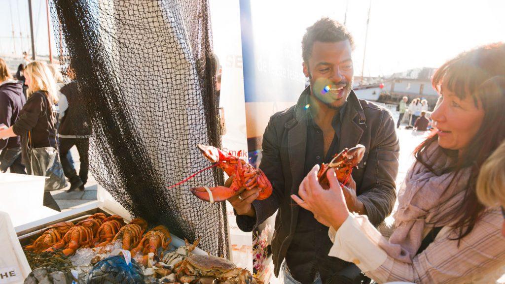 Beim Matstreif Food Festival können Oslo-Besucher verschiedene kulinarische Köstlichkeiten probieren. Foto: Visitnorway.com