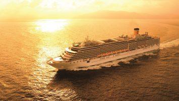 Bereits zur zehnten Weltreise seit 2011 startet die Costa Luminosa im Januar 2018. Foto: Costa Kreuzfahrten