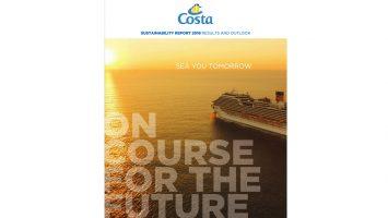 Costa stellt den neuen Nachhaltigkeitsbericht vor. Foto: Costa Kreuzfahrten