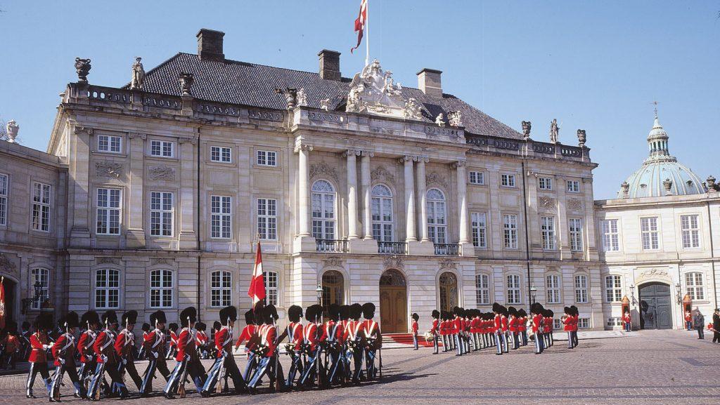 Das Schloss Amalienborg. Foto: Visit Denmark