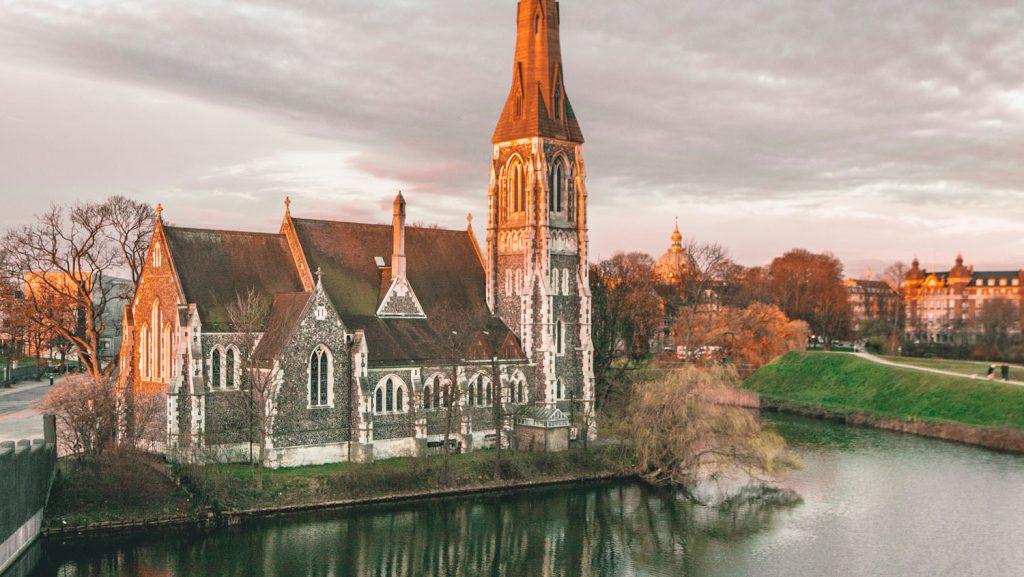 Die St. Alban's Anglican Church im Kastellet. Foto: Visit Copenhagen