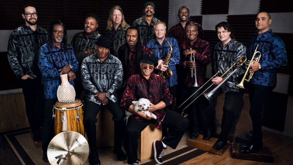 Al McKay's Earth, Wind & Fire Experience wird an Bord sein. Foto: Music Cruise AG