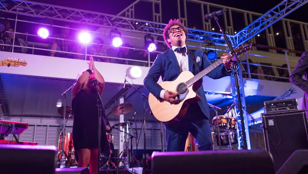 Marc Sway wird auf der Rock & Blues Cruises wieder begeistern. Foto: Music Cruise AG