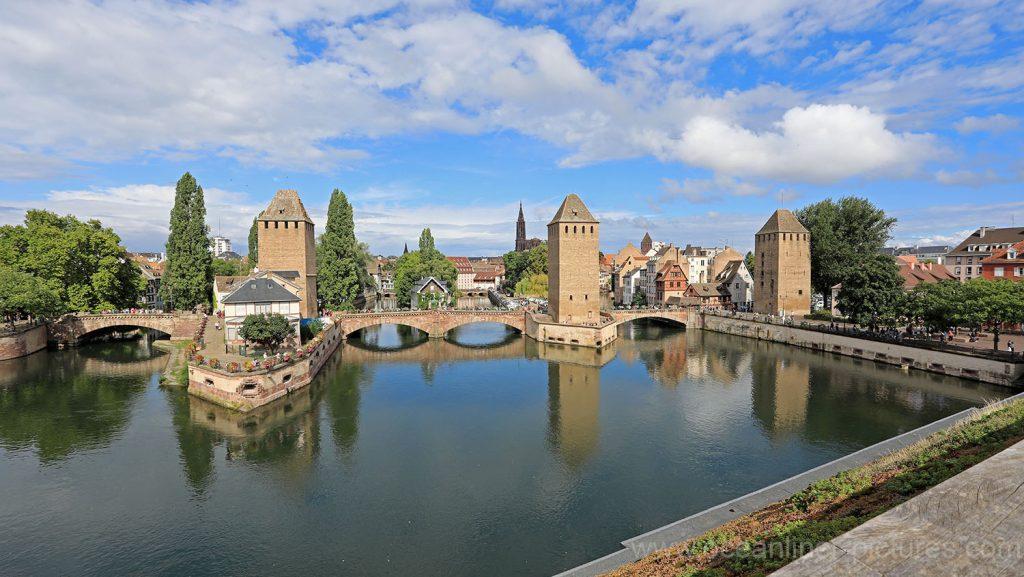 Barrage Vauban, Blick auf Altstadt von Strasbourg. Foto: Oliver Asmussen/oceanliner-pictures.com