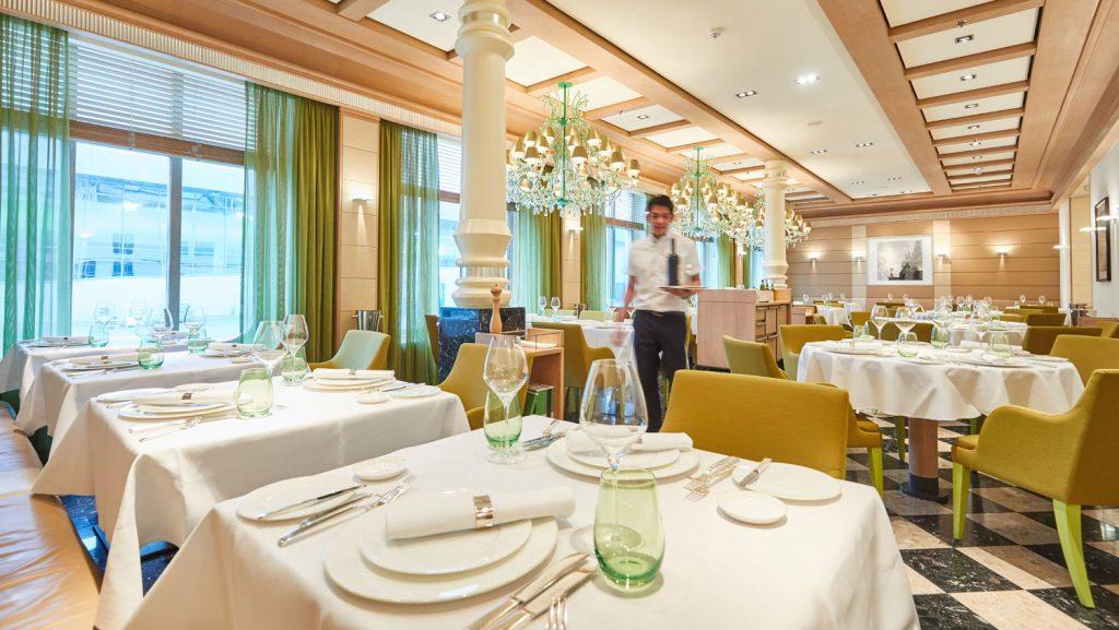 Das italienische Restaurant Serenissima Foto: Christian Wyrwa