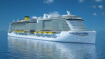 Die Costa Smeralda wird 2019 das erste Mal starten. Foto: Costa Kreuzfahrten