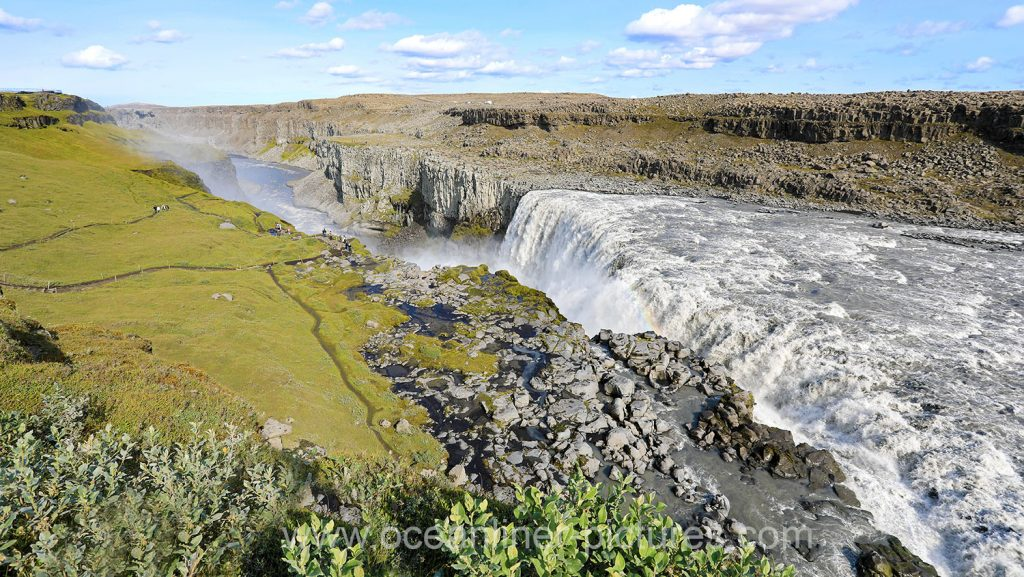 Dettifoss Wasserfall auf Island. Foto: Oliver Asmussen/oceanliner-pictures.com
