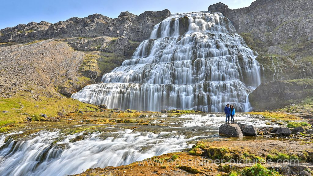 Dynjandi Wasserfall auf Island. Foto: Oliver Asmussen/oceanliner-pictures.com