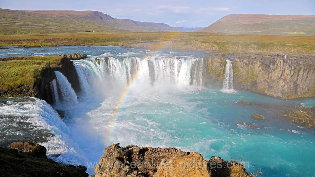 Godafoss Wasserfall auf Island Ostseite. Foto: Oliver Asmussen/oceanliner-pictures.com