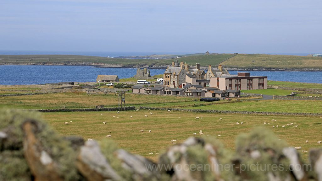 Jarlshof in Sumburgh, Mainland, Shetland-Inseln. Foto: Oliver Asmussen/oceanliner-pictures.com