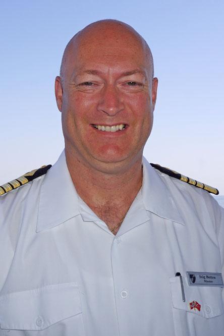 Kapitän Stig Betten. Foto: Seabourn