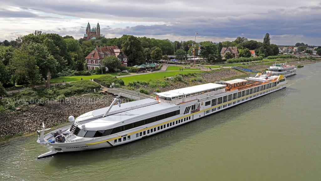 MS Elegant Lady in Speyer 12.08.2017. Foto: Oliver Asmussen/oceanliner-pictures.com