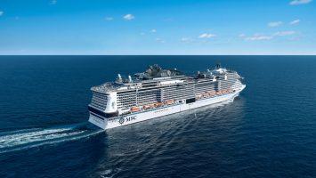 Die MSC Meraviglia ist das Flaggschiff der Reederei. Foto: MSC Kreuzfahrten