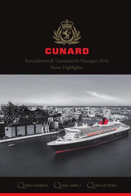 Der neue Katalog. Foto: Cunard