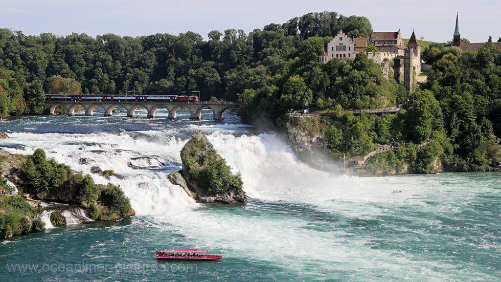 Rheinfall von Schaffhausen. Foto: Oliver Asmussen/oceanliner-pictures.com