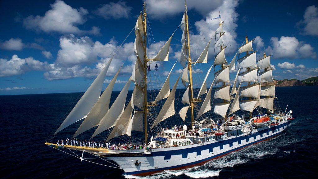 Die Royal Clippers. Foto: Star Clippers