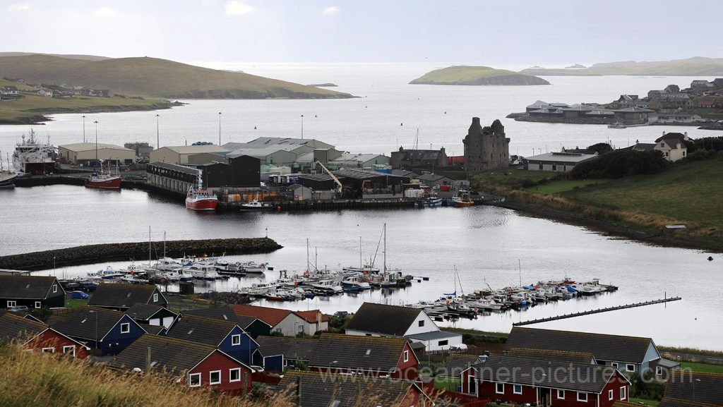 Scalloway Castle, Mainland, Shetland-Inseln. Foto: Oliver Asmussen/oceanliner-pictures.com