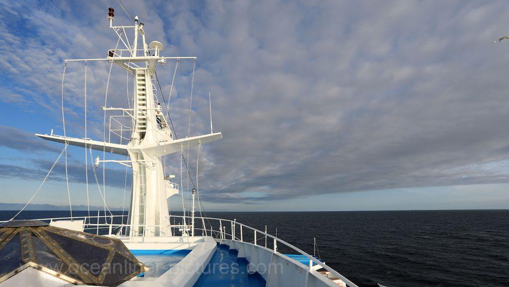 Seetag an Bord der Ocean Majesty. Foto: Oliver Asmussen/oceanliner-pictures.com