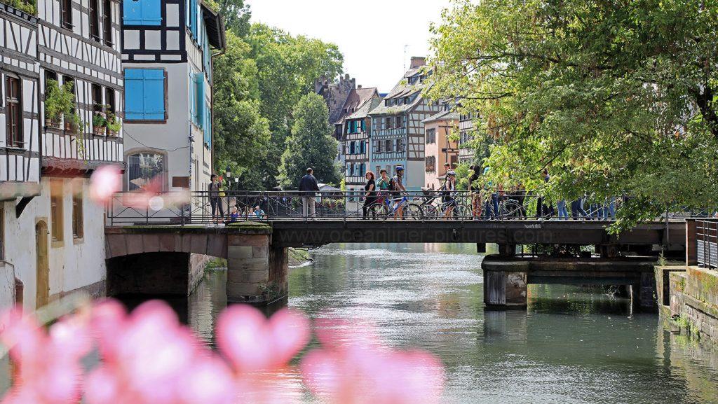 Strasbourg Gerberviertel Petite France. Foto: Oliver Asmussen/oceanliner-pictures.com