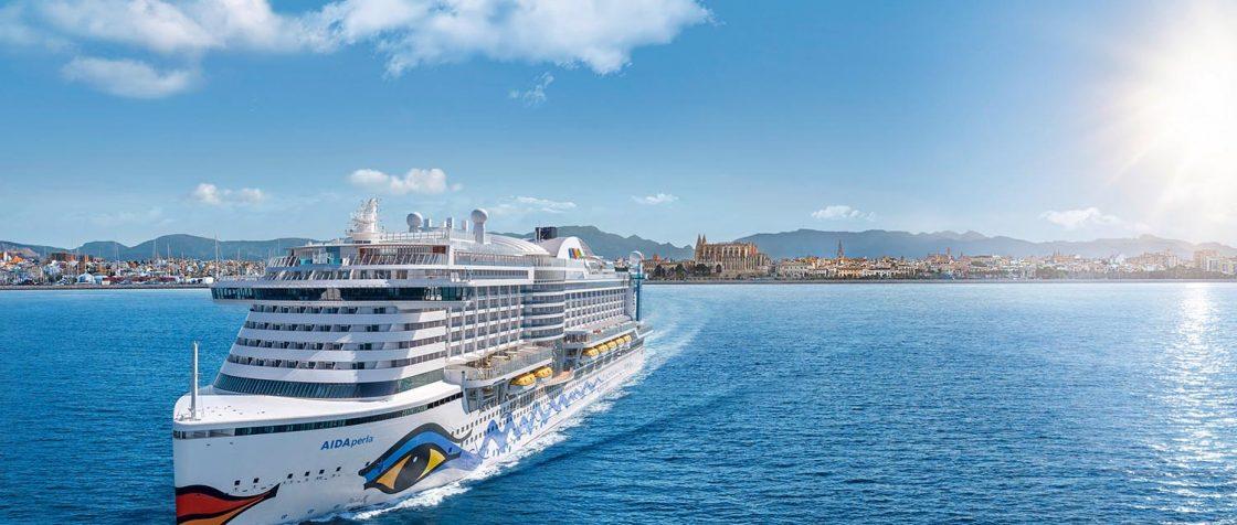 DIe AIDAperla wird im Winter 2018 Hamburg verlassen und durch die Karibik kreuzen. Foto: AIDA Cruises