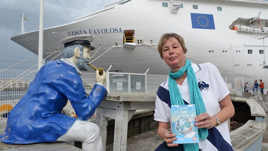 Kreuzfahrtautorin Brina Stein. Foto: André Lenthe
