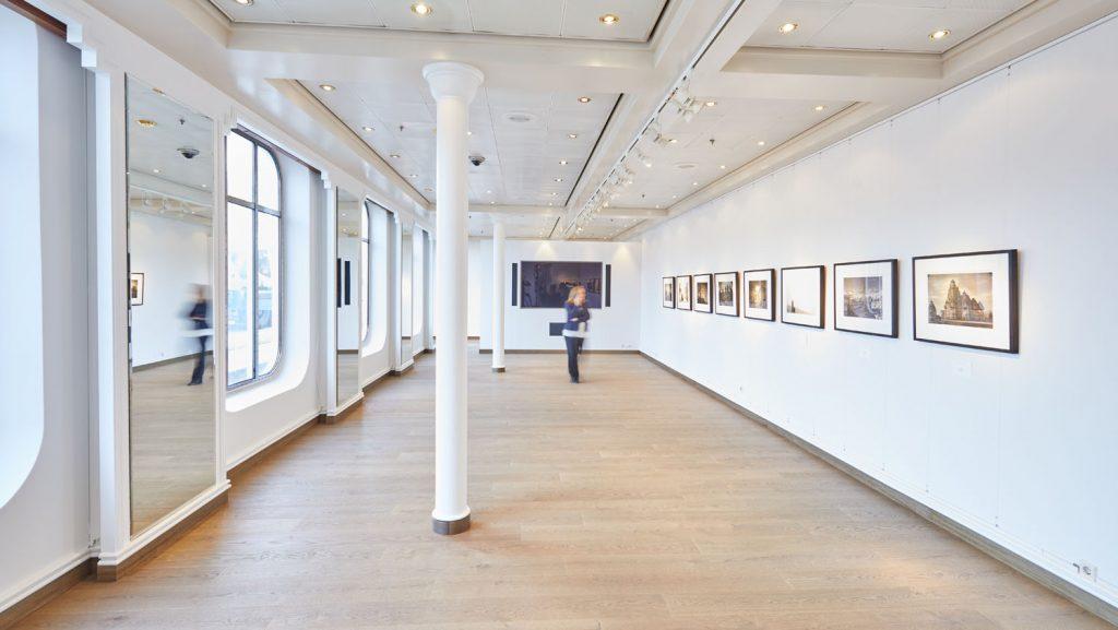 Das Atelier nach dem Werfaufenthalt. Foto: Hapag-Lloyd Cruises / Wyrwa