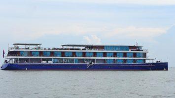 Das Flussschiff Indochine II bereist den Mekong. Foto: Croisi Europe