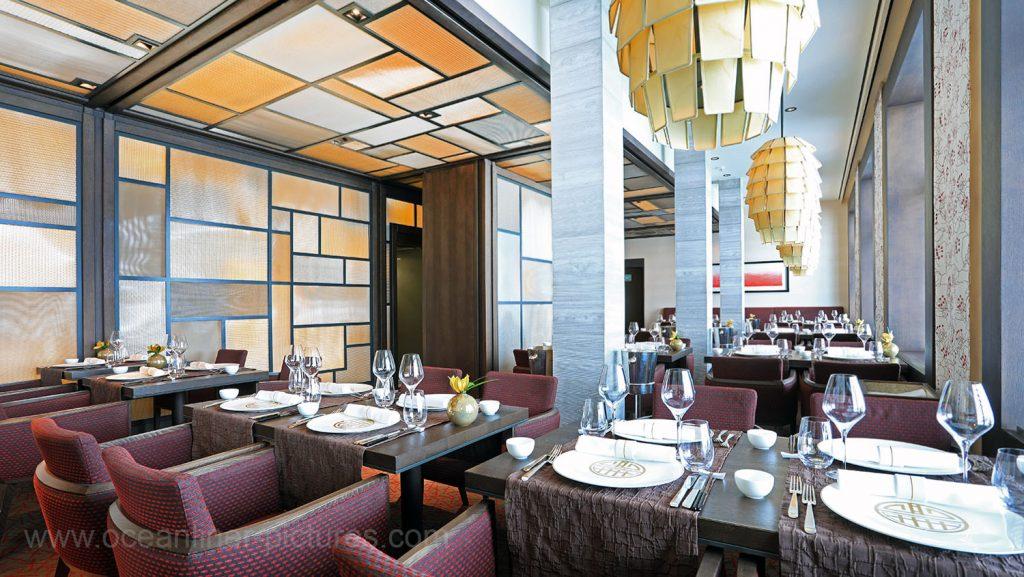 MS Europa 2 Restaurant Elements. Foto: Oliver Asmussen/oceanliner-pictures.com