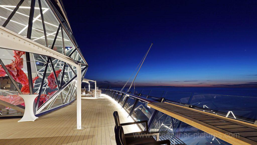 Mein Schiff 5 Champagner Treff. Foto: Oliver Asmussen/oceanliner-pictures.com