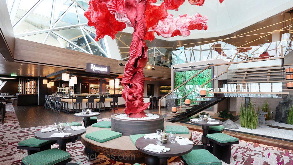 Mein Schiff 5 Hanami Restaurant by Tim Raue. Foto: Oliver Asmussen/oceanliner-pictures.com