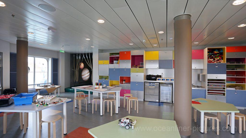 Mein Schiff 5 Insel der Seeräuber Kids Club. Foto: Oliver Asmussen/oceanliner-pictures.com